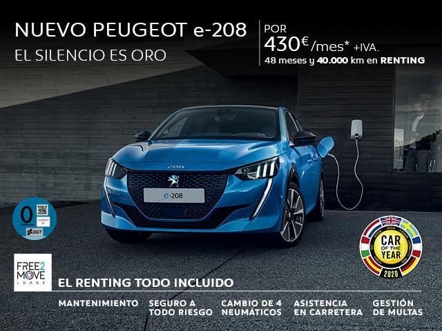 Nuevo Peugeot e-208