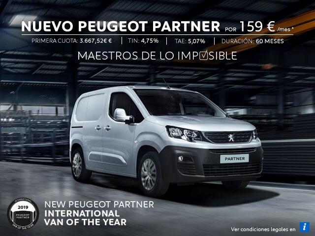 Nuevo Peugeot Partner Móvil Cuotas Legales