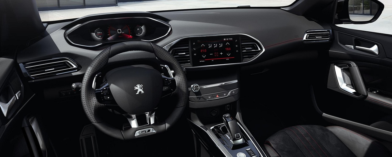 PEUGEOT 308: PEUGEOT i-Cockpit® digital