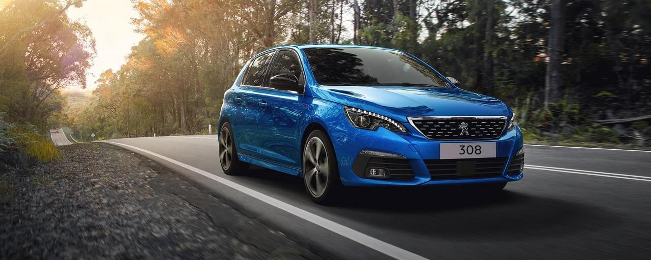 NUEVO PEUGEOT 308 - FRONTAL