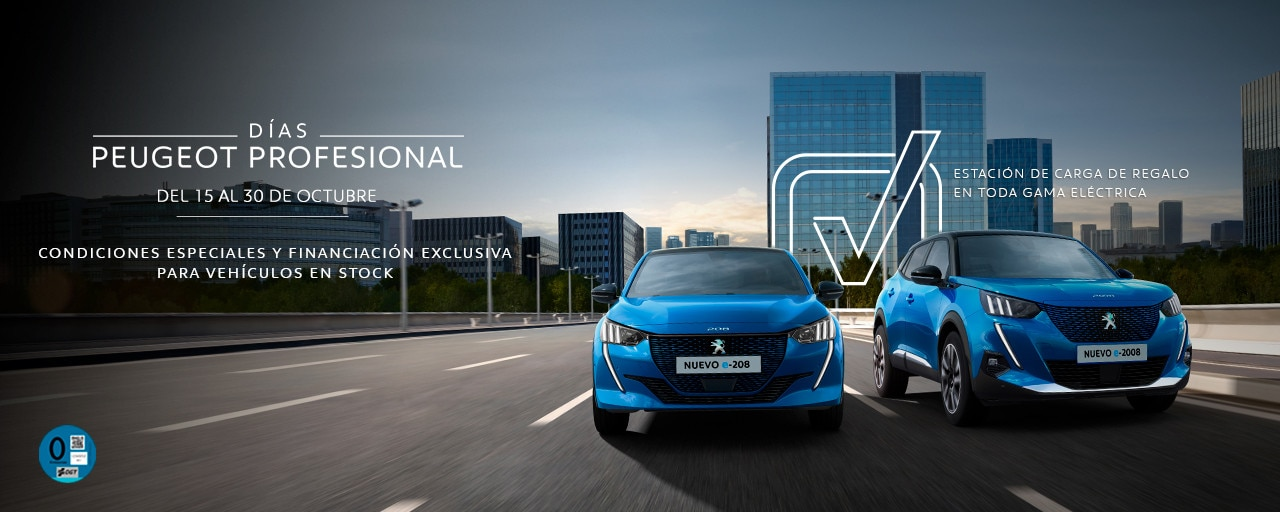Nueva Gama Peugeot eléctricos