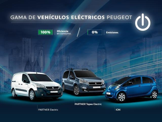 Promo Empresas Gama vehículos eléctricos Peugeot