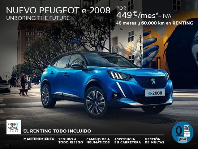 Nuevo Peugeot e-2008