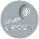 Desarrollo sostenible icono