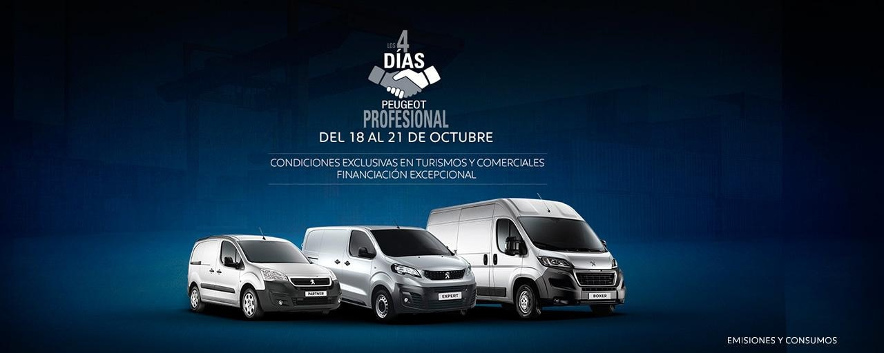 Peugeot Profesional - Turismos y Comerciales