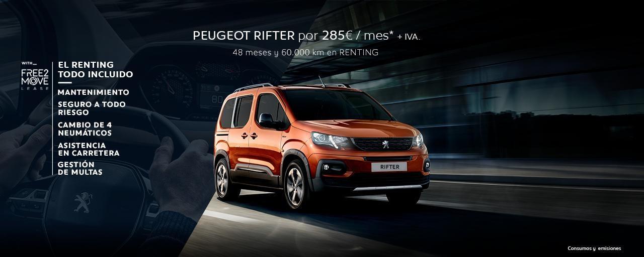 Peugeot Rifter 100 BlueHDI Active S&S