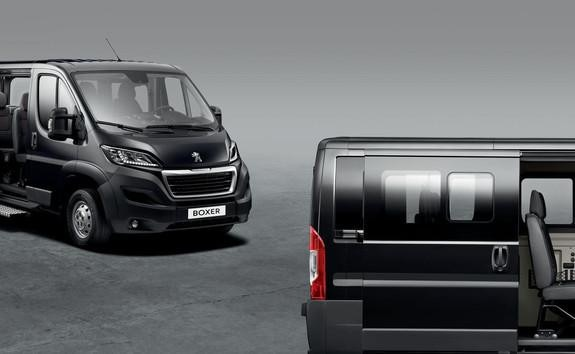 Peugeot Boxer Furgón - Para los que transportan personas