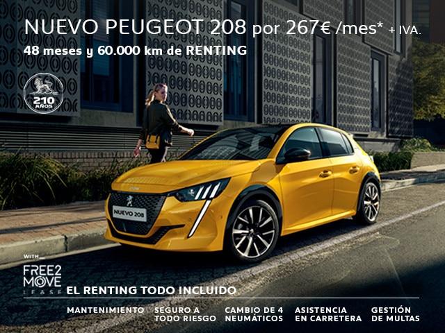 Nuevo 208 Active PureTech 100