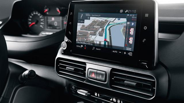 """NUEVO PEUGEOT PARTNER navegación 3D conectada, tecnología Mirror Screen, pantalla táctil de 8"""""""