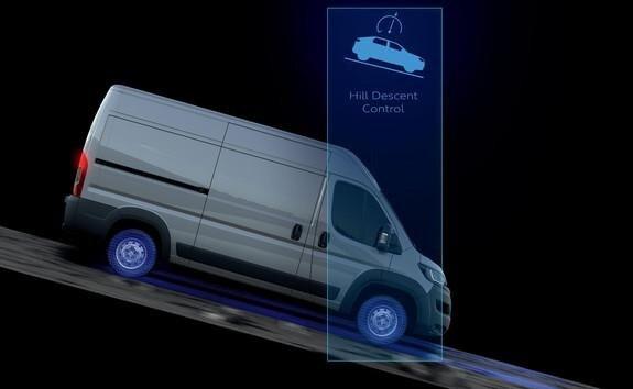 Ayudas a la conducción del Peugeot Boxer - Hill Descent Control