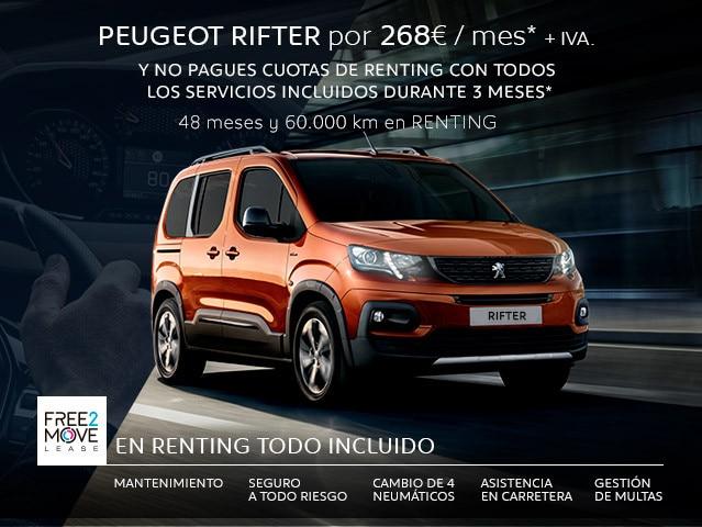 Peugeot Rifter - empresas