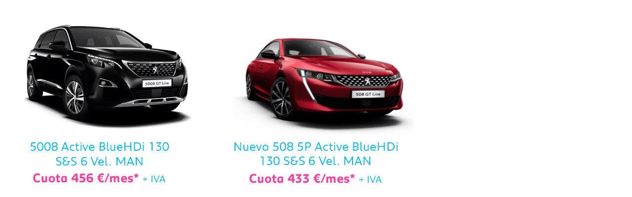 Gama Peugeot turismos Free2Move