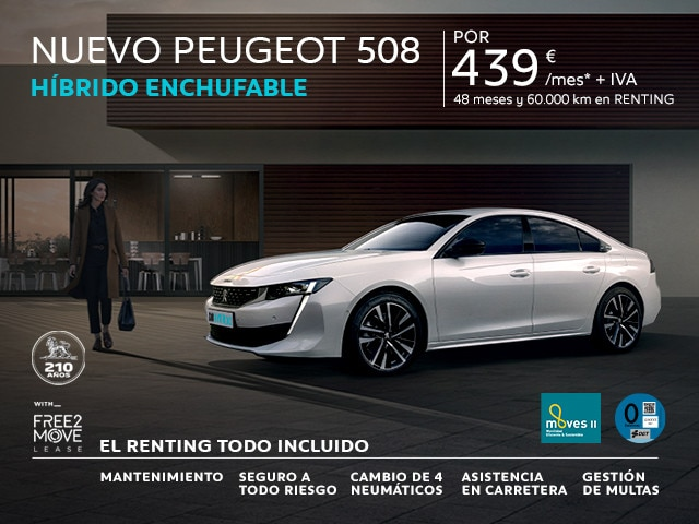 Nuevo Peugeot 508 Allure HYBRID 225 e-EAT8