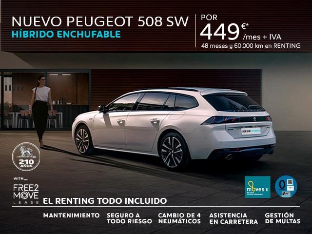 Nuevo Peugeot 508 SW Allure HYBRID 225 e-EAT8