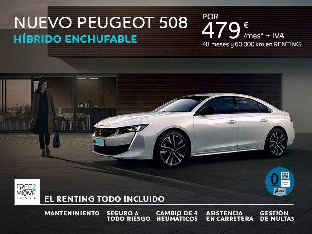 Nuevo Peugeot 508 HYBRID