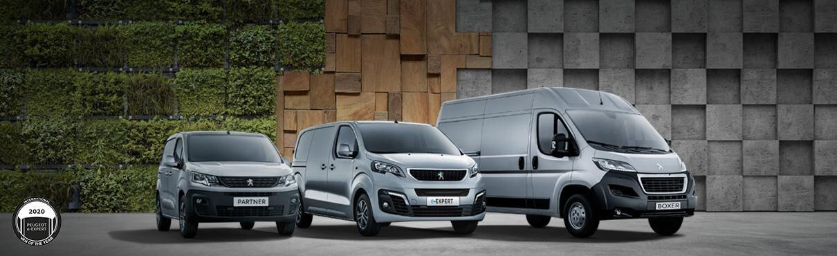 Comerciales Peugeot