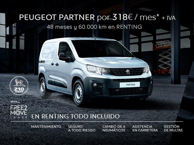 Nuevo Partner PRO Standard 600 kg BlueHdi 100