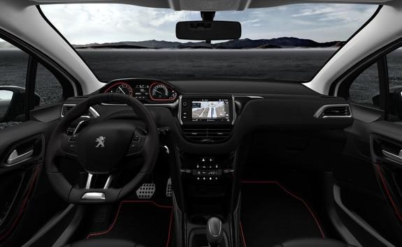 Peugeot SUV 2008 - i-cockpit et services connectés