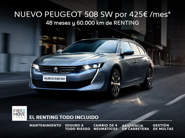 NUEVO PEUGEOT 508 SW