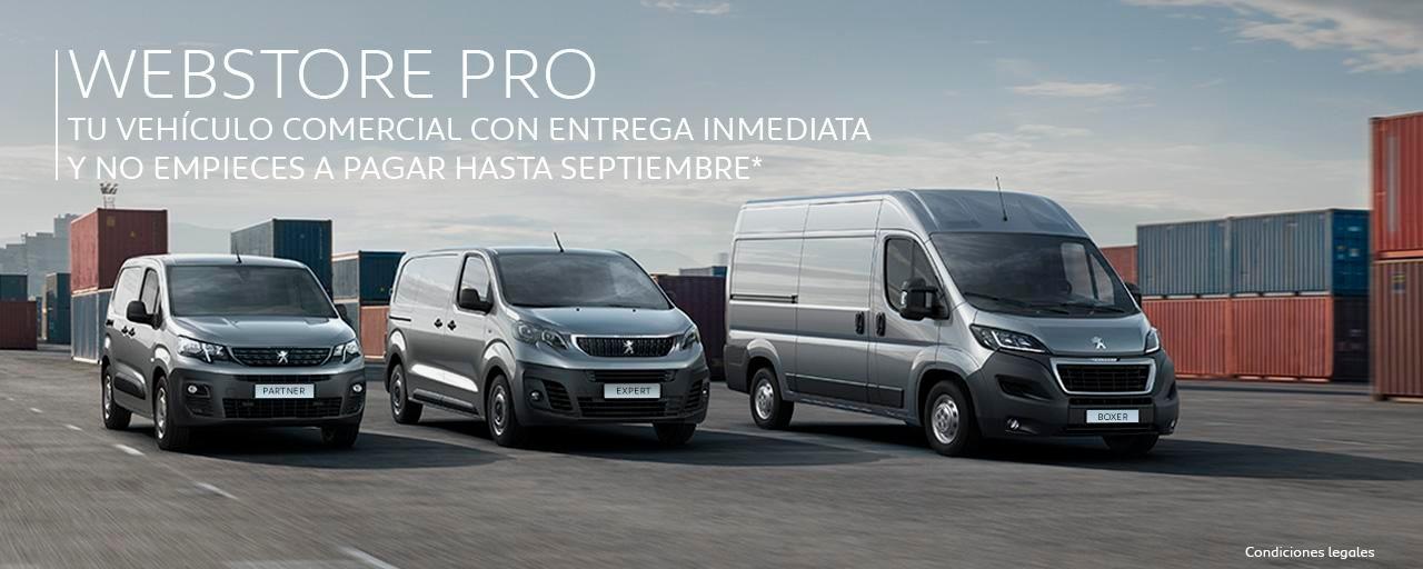 Webstore PRO - Peugeot España