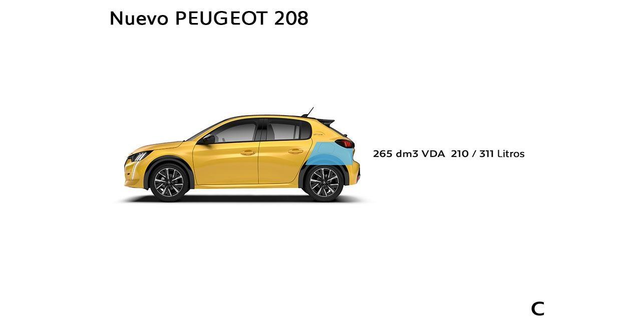 Nuevo Peugeot 208 - Capacidades