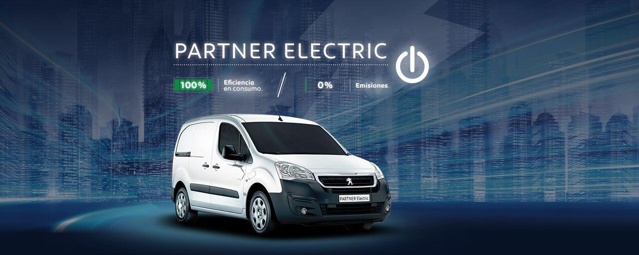 Peugeot Partner Electric Furgón Eléctrico