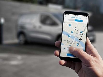Nuevo PEUGEOT e-PARTNER - acceso a MyPeugeot en el móvil
