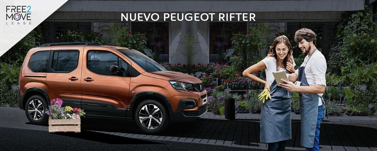 Mainbanner Nuevo Peugeot Rifter Empresas Noviembre