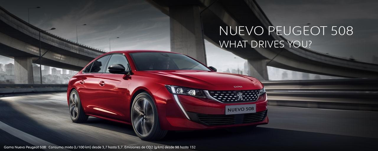 Nuevo Peugeot 508 What Drives You