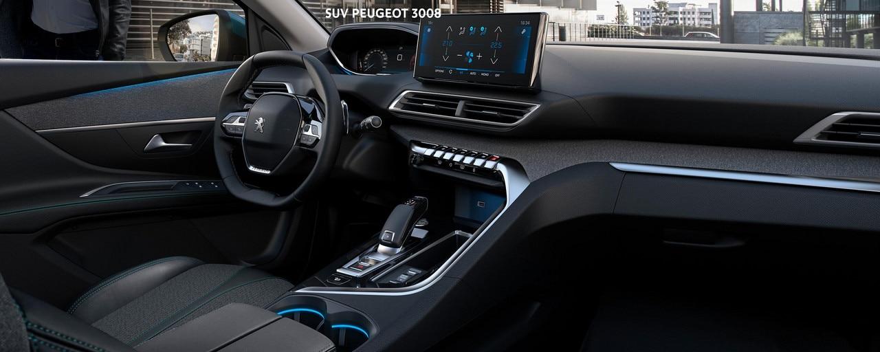 Nuevo SUV PEUGEOT 3008 - Gran interior  y PEUGEOT i-Cockpit®