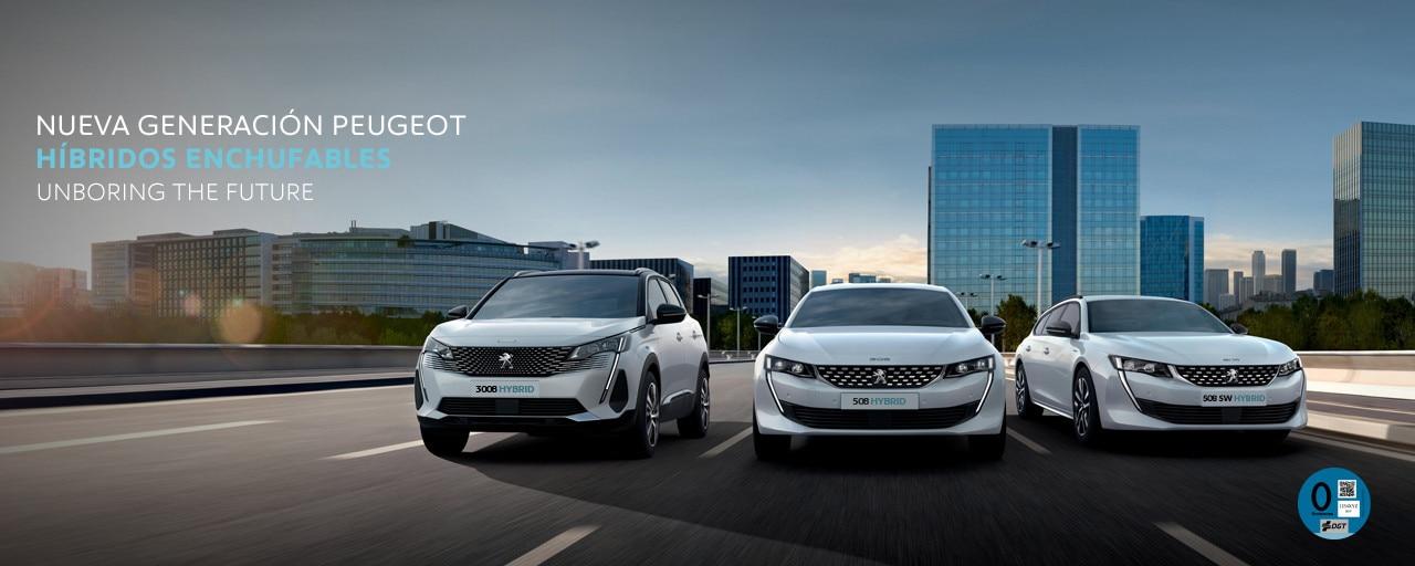 Nueva Gama Peugeot hibridos enchufables