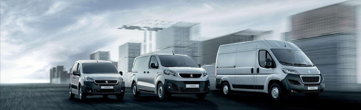Gama Vehículos Profesionales Peugeot
