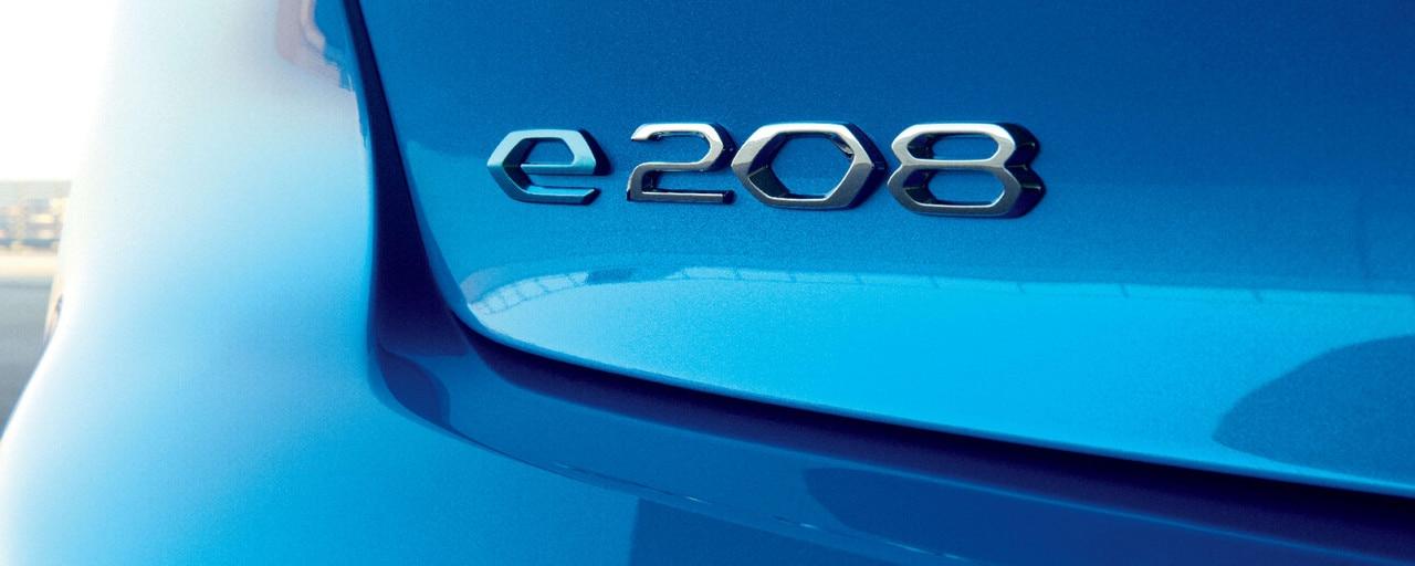 Nuevo PEUGEOT 208 - Logo e-208