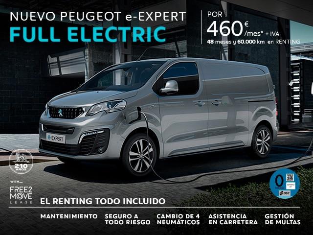 Nuevo Peugeot e-Expert