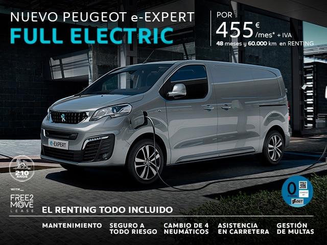 Nuevo Peugeot e-Expert Full Electronic