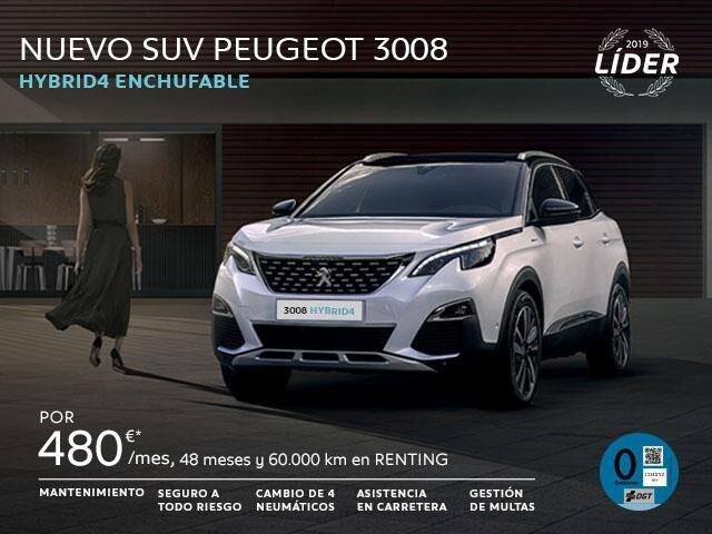 Nuevo SUV peugeot 3008 HYBRID