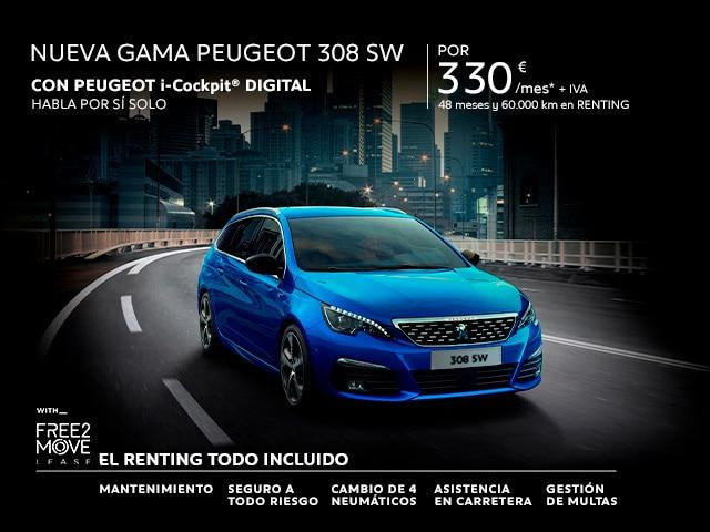 Nueva Gama Peugeot 308 sw