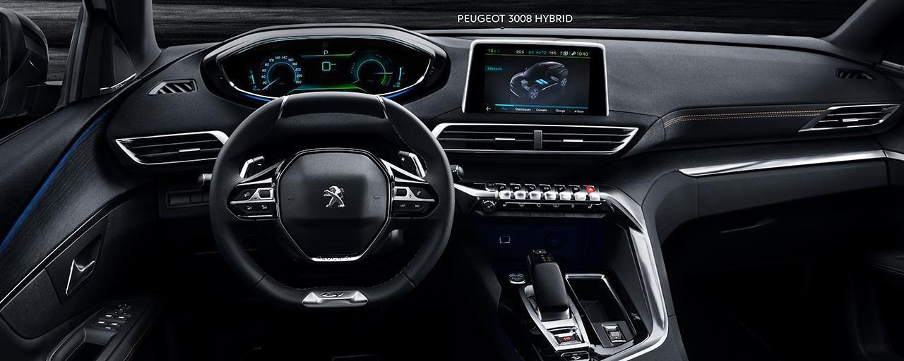 PEUIGEOT 3008 HYBRID4: El placer de conducir