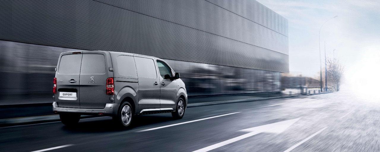 Peugeot Expert Furgón Comercial - Visión trasera
