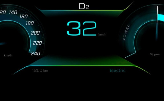PEUGEOT 3008 HYBRID4: modo eléctrico