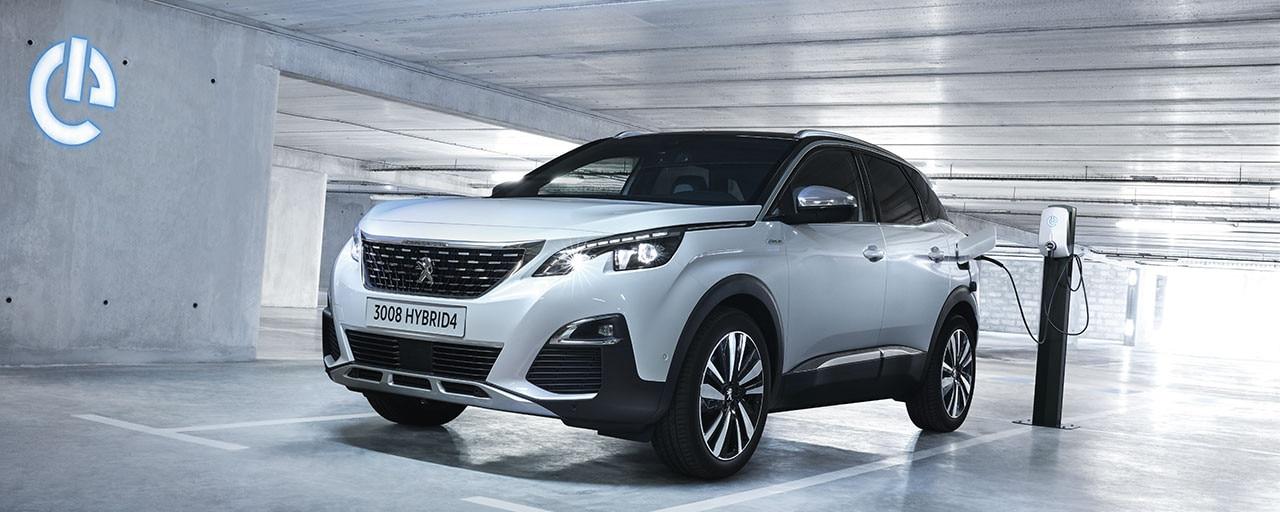 SUV Peugeot 3008 Hybrid4 para profesionales