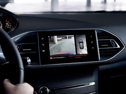 PEUGEOT 308 GT Line : Mirror screen