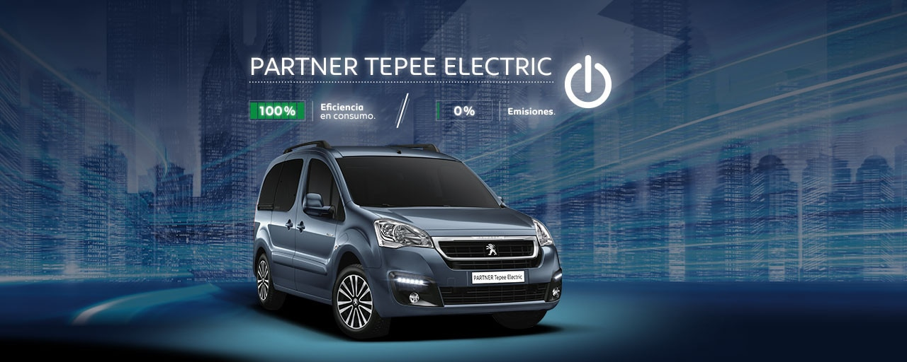 Mainbanner Peugeot Partner Tepee Electric