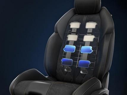 Asientos AGR con ajustes eléctricos con memoria, calefacción y masaje multipunto - nuevo familiar PEUGEOT 508 SW para profesionales.