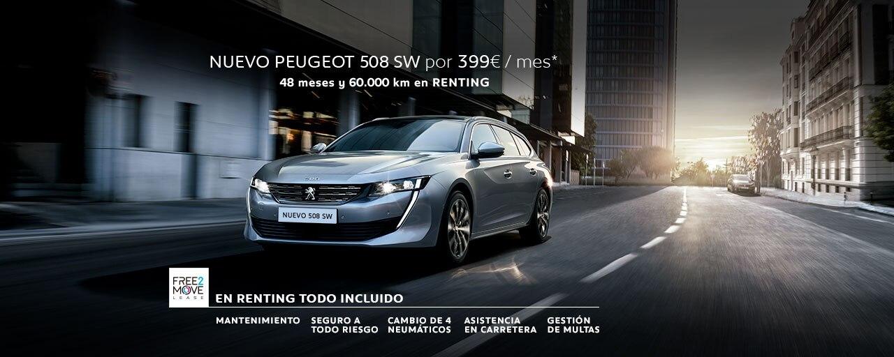 Nuevo Peugeot 508 SW Renting
