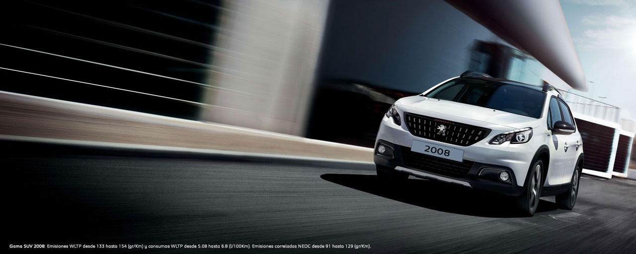 SUV Peugeot 2008 - Profesionales