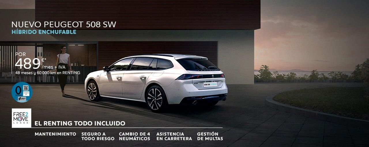 Nuevo Peugeot 508 SW HYBRID