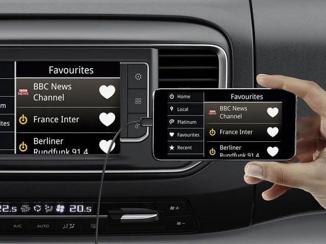Peugeot Expert Furgón pantalla táctil