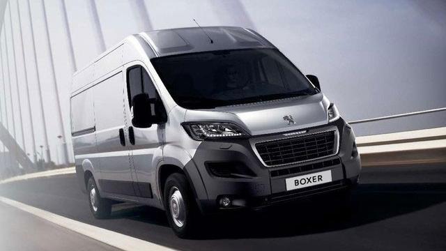 Peugeot Boxer Furgón confort y robustez