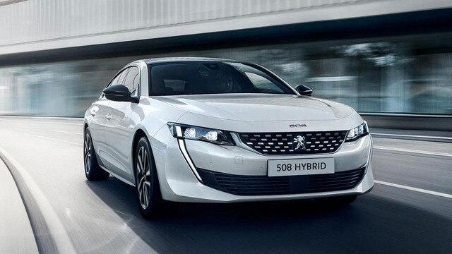 Diseño del Nuevo Peugeot 508 Hybrid para profesionales